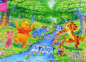 TD1000-332 푸우 꽃동산