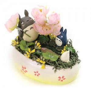 [ONLY ONE] 꽃그릇(토토로의 봄) 벚꽃 -이웃집 토토로