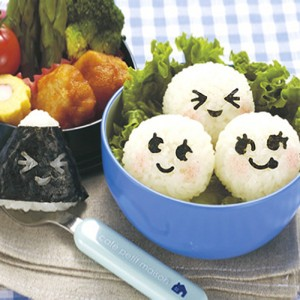 주먹밥 꾸미기 김펀치 3p set (일본 직수입)