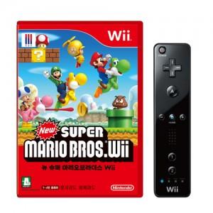 Wii) 뉴 슈퍼마리오 브라더스+리모컨