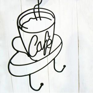 철재 커피 홀더