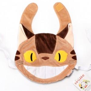 [지브리 베이비] 유아 턱받이 - 고양이 버스