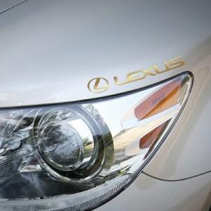 오리지널 럭셔리 자동차 브랜드 메탈 스티커