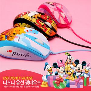 [디즈니 마우스]TKDS D9006정품 캐릭터 마우스(미키/미니/푸우)