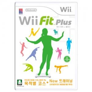 WII 위핏 플러스 - 소프트웨어 단품
