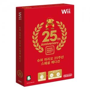닌텐도 WII 슈퍼마리오 25주년 스페셜 에디션