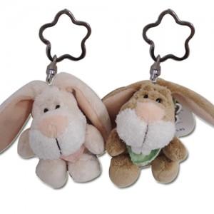 [NICI] 빈백키링-토끼(키링 꽃무늬)