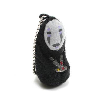 미니봉제열쇠고리 (카오나시) - 센과 치히로의 행방불명