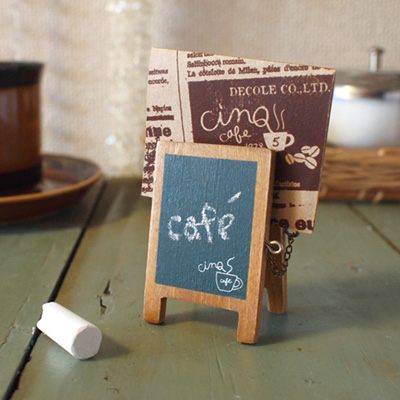 Decole CINQ 메뉴 보드 카드 스탠드