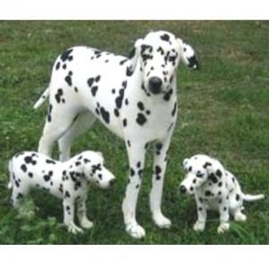 [HANSA] Dalmatian Puppy Sit(달마시안3) 9014번/38cm