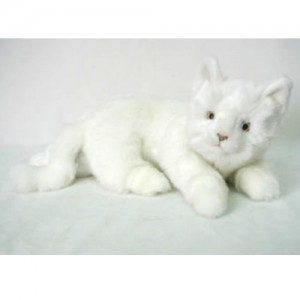 [HANSA] Cat Laying WH(고양이흰색1) 4157번/17cm