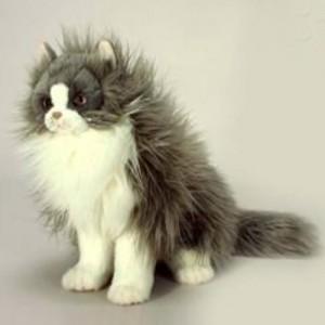 [HANSA] Cat Tabby Sit(고양이태비1) 5012번/38cm.H