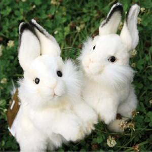 [HANSA] RABBIT-BABY WH(토끼흰색1)3313번/15*32cm