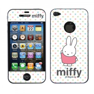 스킨플레이어 iPhone 4G MF-01 미피 디자인 스킨