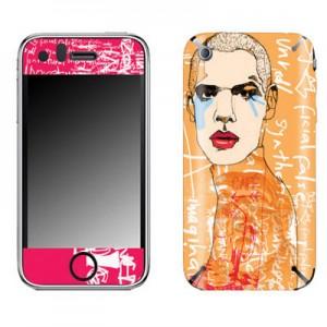 스킨플레이어 iPhone 4G illustration 눈물 디자인 스킨