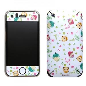스킨플레이어 iPhone 3Gs 봄비오는날 판다독 디자인 스킨