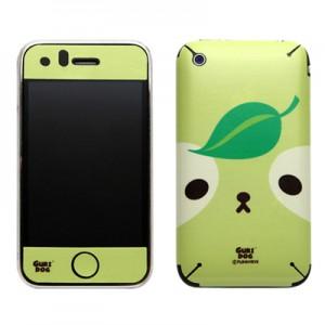 스킨플레이어 iPhone 3Gs 포커페이스 구리독 디자인 스킨