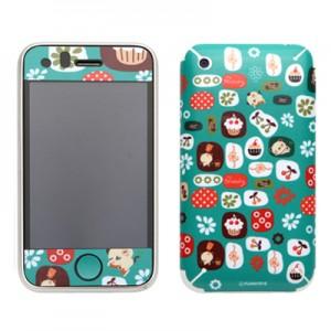 스킨플레이어 iPhone 3Gs 군것질왕 판다독 디자인 스킨