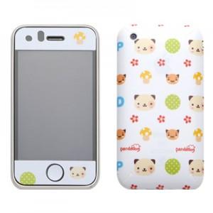 스킨플레이어 iPhone 3Gs 꼬마앙마 판다독 디자인 스킨
