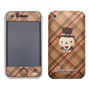 스킨플레이어 iPhone 3Gs 꼬마신사 판다독 디자인 스킨
