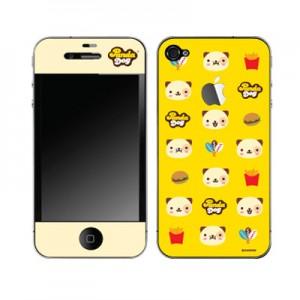 스킨플레이어 iPhone 4G 야금야금 판다독 디자인 스킨