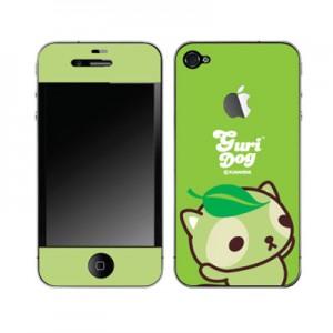 스킨플레이어 iPhone 4G 멀뚱멀뚱 구리독 디자인 스킨