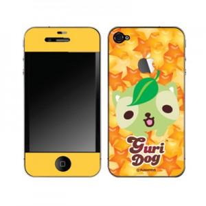 스킨플레이어 iPhone 4G 반짝반짝 구리독 디자인 스킨
