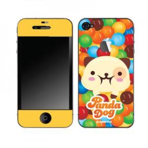 스킨플레이어 iPhone 4G 새콤달콤 래빗독 디자인 스킨