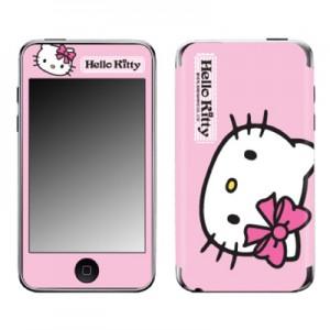 스킨플레이어 iPod Touch 2G-3G 헬로키티 A 핑크 디자인 스킨