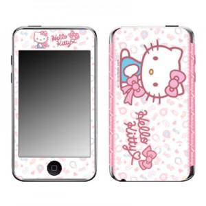 스킨플레이어 iPod Touch 2G-3G 헬로키티 C 핑크무뉘 디자인 스킨