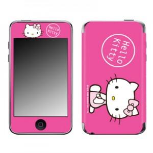 스킨플레이어 iPod Touch 2G-3G 헬로키티 E 핑크2 디자인 스킨