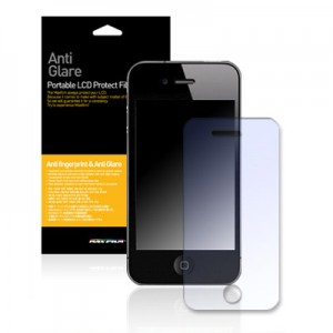 스킨플레이어 iPhone 4G 지문방지 액정보호필름 AG 2매