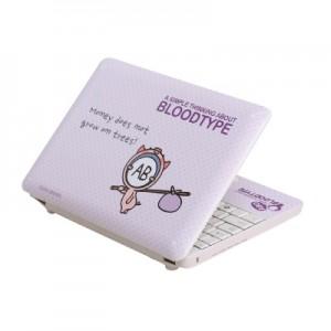 스킨플레이어 노트북 스킨 혈액형 15인치 이하