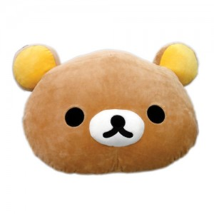 [리락쿠마] 리락쿠마 얼굴쿠션 50cm