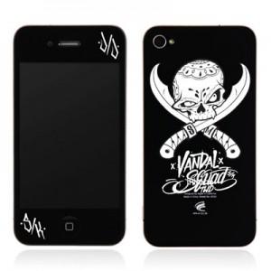스킨플레이어 Design Jacket iPhone 4G JNJ Crew 해적 디자인 필름