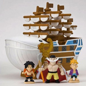 한정수량!SALE [트레이딩]원피스 캐러뱅크 해적단 시리즈 [모비딕호]-흰수염 해적단