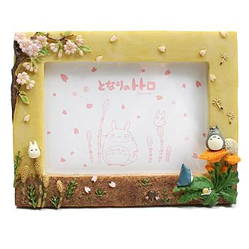 토토로 꽃-프레임 액자 (봄) - 이웃집 토토로