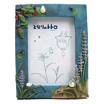 토토로 꽃-프레임 액자 (여름) - 이웃집 토토로