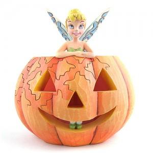 [Disney]팅커벨: Tinkerbell Inside Pumpkin Figurine, (4013975)