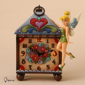 [Disney]피터팬(팅커벨)조명시계:Tinker Bell Mantel Clock (4016536)