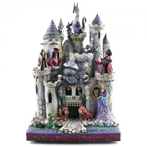 [Disney] 디즈니 악당들:Tower of Fright-Haunted Castle Figurine(4013979)