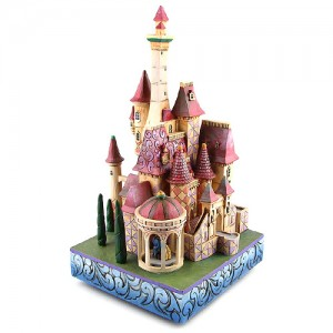 [Disney]미녀와야수: ''Enchanted Kingdom'' Beauty and the Beast Sculpture (4013250)