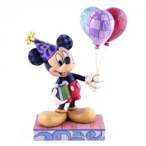 [Disney]미키마우스: Mickey Mouse Birthday Celebration Figurine (4013255)