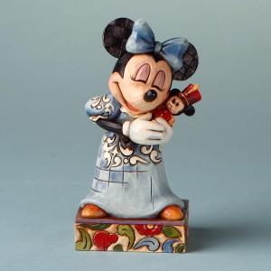 [Disney]미니마우스: Minnie as Clara-Minnie Mouse Figurine (4016560)