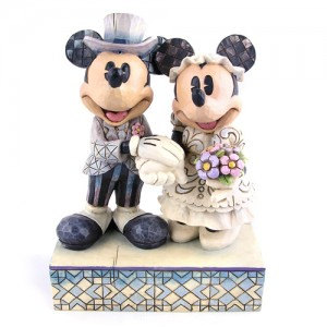 [Disney]미키마우스: Love Figurines, Mickey, Minnie, Wedding Figurines(4013988)