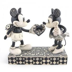[Disney]미키마우스: Black and White Mickey and Minnie(4009260)