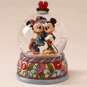 [Disney]미키마우스(워터볼): Spring Jitterbug-Mickey Mouse/Minnie Mouse Waterball (4015350)