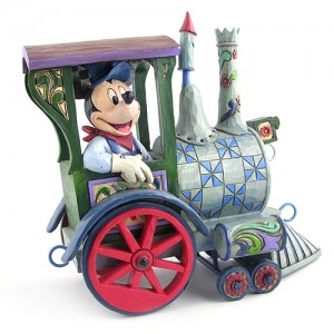 [Disney]미키마우스: All Aboard!-Mickey Mouse Pull Train Figurine (4016585)