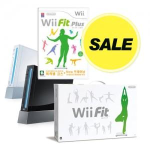 [닌텐도 폭풍증정+할인] Wii본체(구형)+ WiiFit + 위핏플러스 소프트 증정