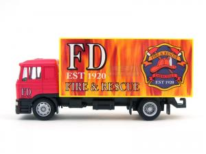 1/64 MAN FIRE & RESCUE BOX TRUCK (RB070056RE)